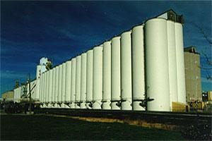 Central Soya Concrete Silo Project