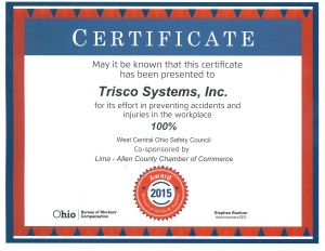 Trisco's BWC Safety Awd 2015 100% accident free